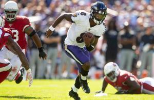 Lamar Jackson Ravens vs Cardinals 2019