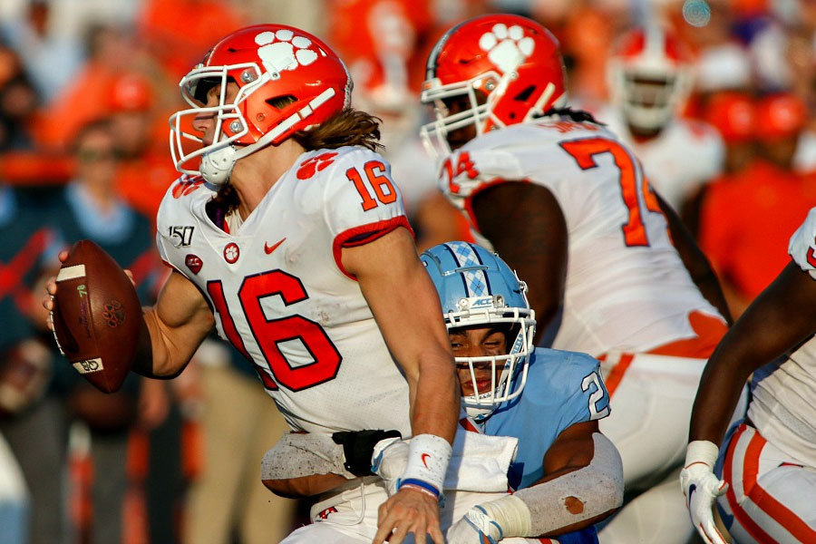 NCAA Football 2019 North Carolina Clemson