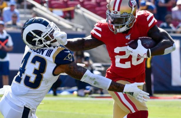 NFL 2019 49ers Rams week 6