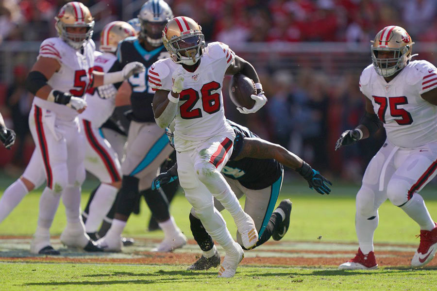 NFL 2019 49ers vs Panthers