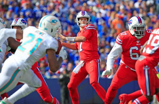 NFL 2019 Bills vs Dolphins week 7