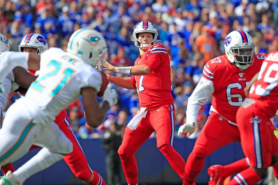 NFL 2019 Bills vs Dolphins week 7