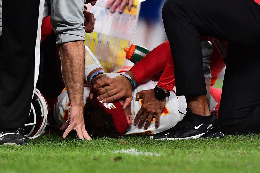 NFL 2019 Mahomes injury
