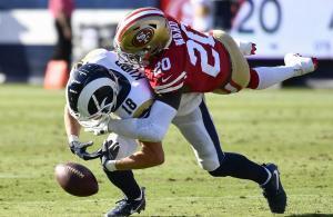 NFL 2019 Rams vs 49ers