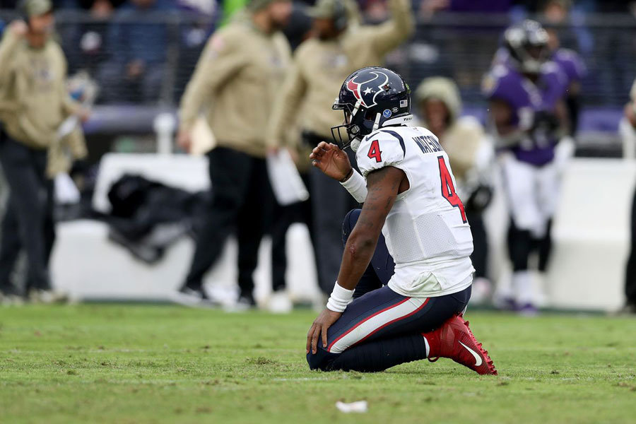 NFL 2019 Deshaun Watson Texans vs Ravens