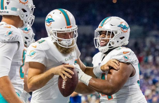 NFL 2019 Fitzpatrick Miami Dolphins