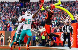 NFL 2019 Jarvis Landry Browns vs Dolphins