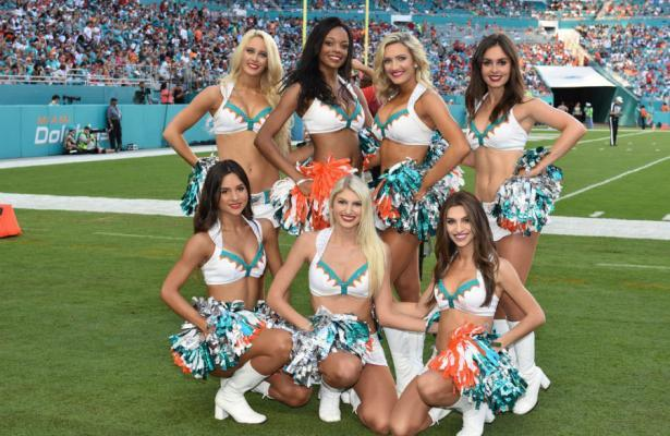 NFL 2019 Miami Dolphins cheerleaders