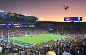 NFL 2019 Rams vs Bears Navy Seals