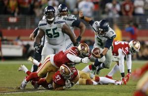 NFL 2019 Russell Wilson Seahawks 49ers