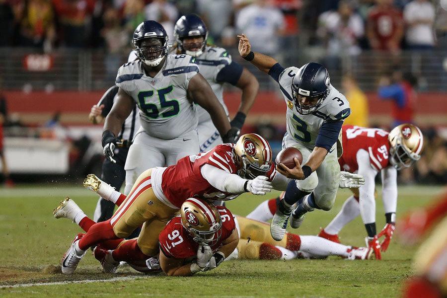 NFL 2019 Russell Wilson Seahawks 49ers