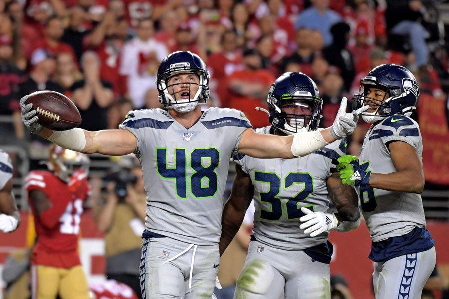 NFL 2019 Seahawks vs 49ers