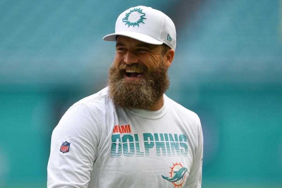 Ryan Fitzpatrick ha guidato i Dolphins al trionfo