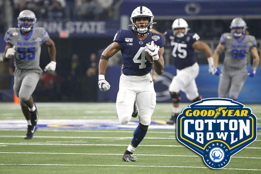 Journey Brown Penn State Nittany Lions Cotton Bowl 2019 MVP