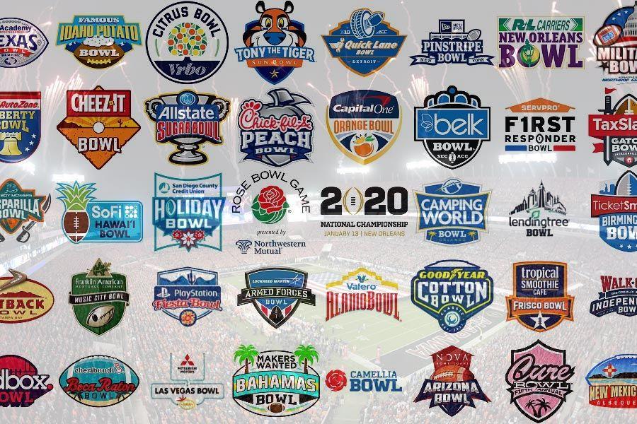 NCAA Bowl games 2019