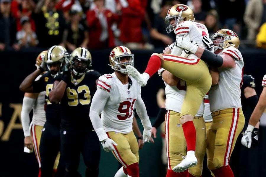 NFL 2019 New Orleans Saints vs San Francisco 49ers