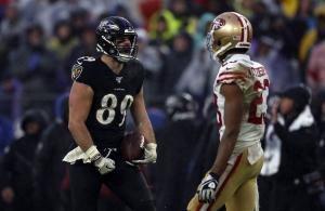 NFL 2019 Ravens vs 49ers
