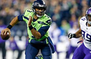 NFL 2019 Russell Wilson Seahawks vs Vikings