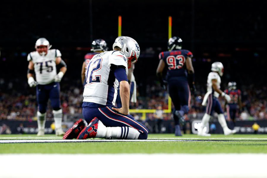 Tom Brady Patriots vs Texans