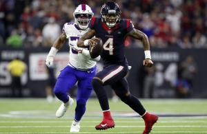 NFL 2019 Wild Card Watson Houston Buffalo