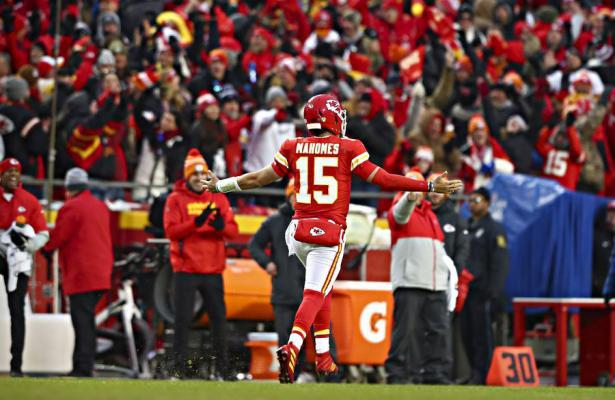 NFL 2019 divisional AFC Mahomes Chiefs Texans