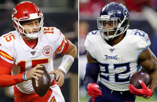 NFL 2020 AFC Championship Chiefs vs Titans