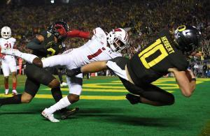 Rose Bowl 2019 Justin Herbert Oregon vs Wisconsin