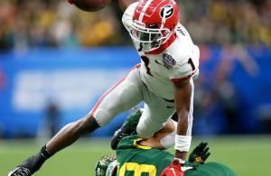 Sugar Bowl 2019 George Pickens Georgia vs Baylor