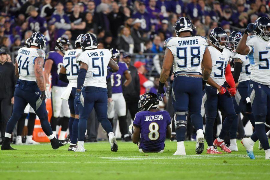 NFL 2019 playoff Ravens 12 Titans 28