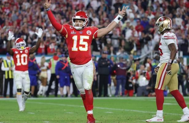 Patrick Mahomes Super Bowl LIV 2020