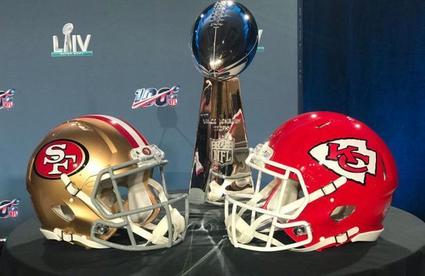 NFL Super Bowl LIV Chiefs 49ers