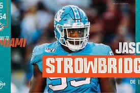 Jason Stormbridge Miami Dolphins Draft 2020