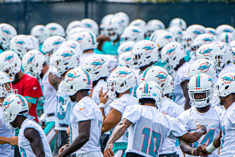 Miami Dolphins camp 2020