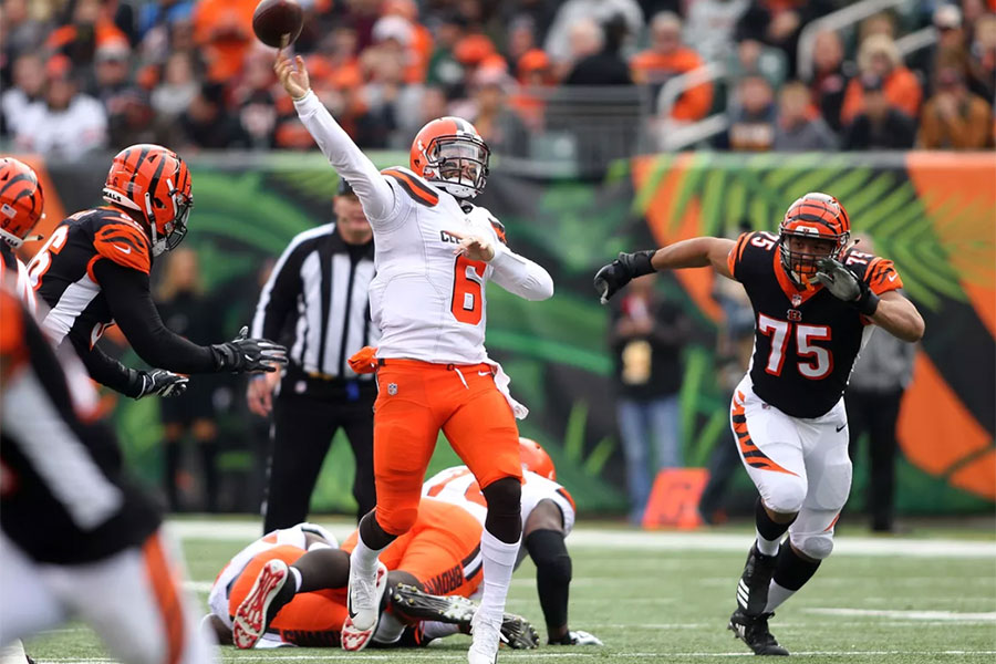 Bengals at Browns preview TNF NFL 2020