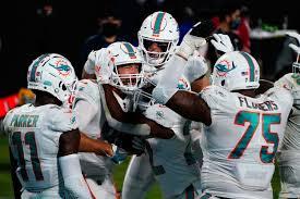 Miami Dolphins team wins vs Jacksonville