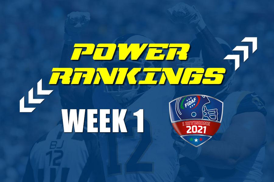 FIDAF Power Rankings 2021 week 1