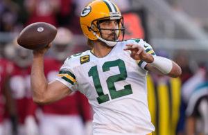 Aaron Rodgers 49ers Packers week 3 NFL 2021