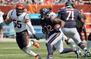 David Montgomery Bears vs Bengals week 2 NFL 2021