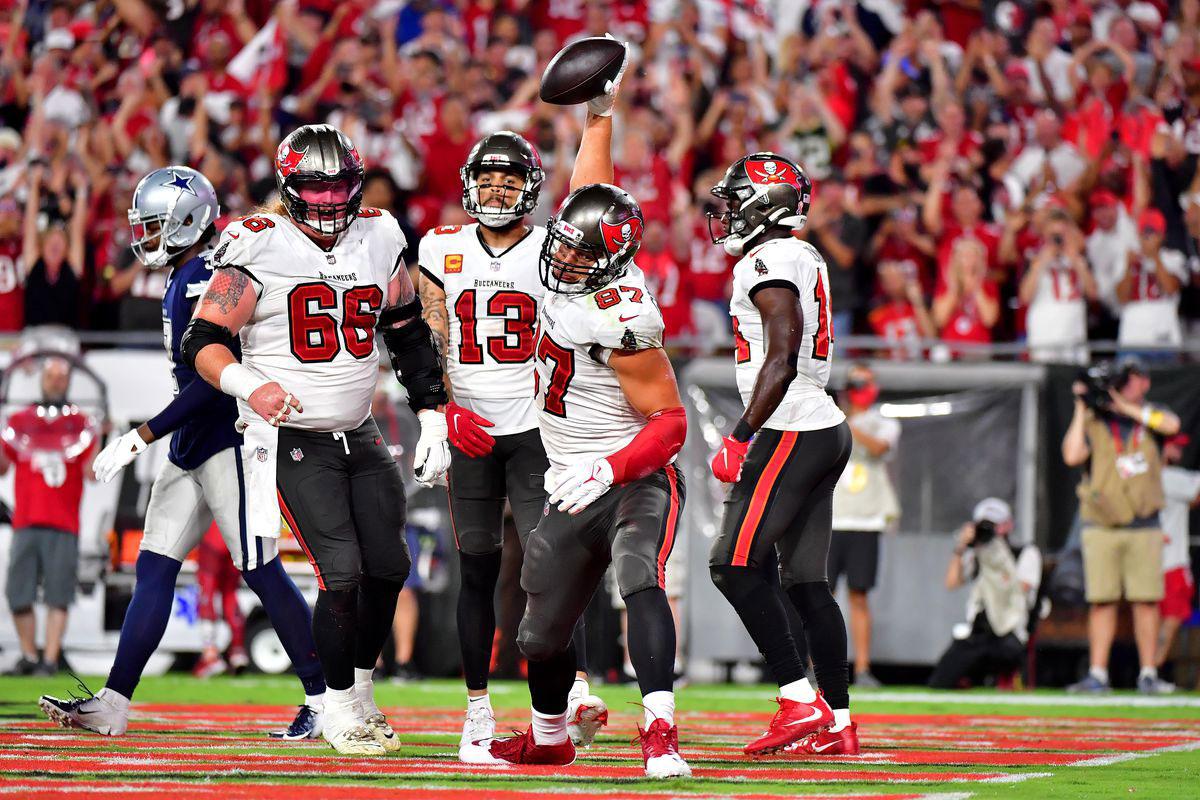Rob Gronkowski touchdown
