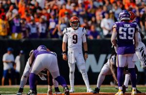 Joe Burrow Bengals vs Vikings week 1 NFL 2021