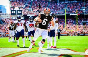 Mayfield Browns vs Texans week 2 NFL 2021