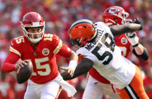 Patrick Mahomes Chiefs vs Browns week 1 NFL 2021