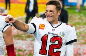 Tom Brady back home