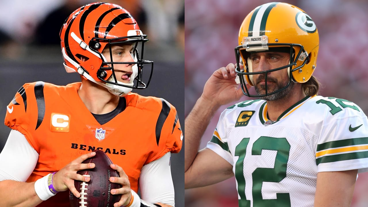 Burrow vs Rodgers week 5 NFL 2021