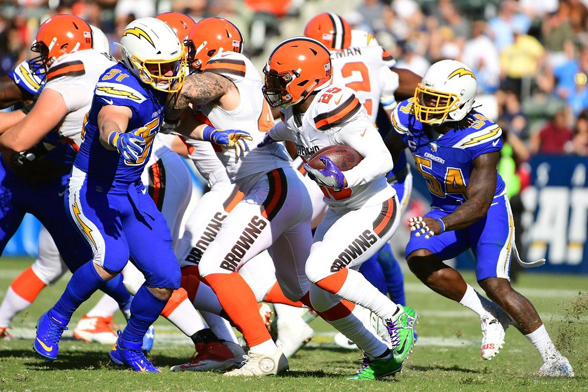 Chargers vs Browns Week 5 NFL 2021