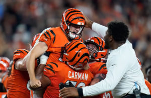 Evan McPherson Brown vs Bengals NFL 2021
